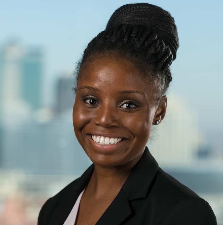 Photo of Kansas City Bankruptcy and Litigation Attorney Jessica-Marie Hampton