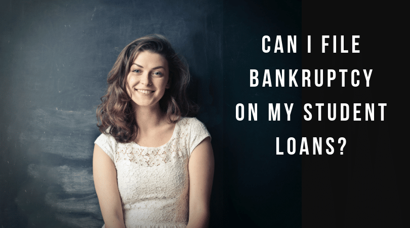 Is it possible to file bankruptcy on student loans?