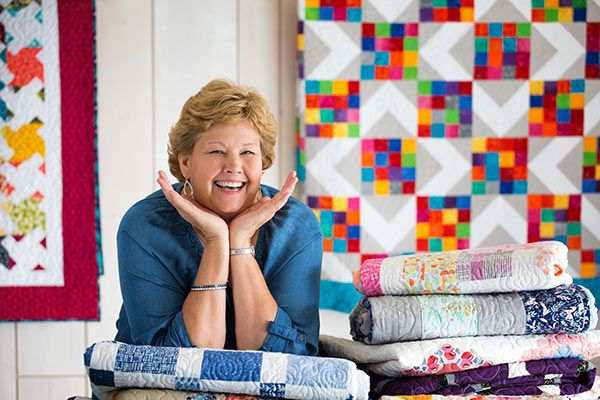 Picture of Missouri Star Quilt Co. Founder Jenny Doan photo used with permission from Missouri Star Quilt Co.